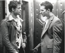 Tyler Durden from Fight Club