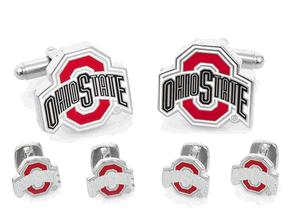 Ohio State University Buckeyes Cufflinks