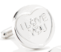 I Love You Sweetheart Cufflinks