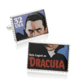Dracula Stamp Cufflinks