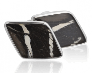 Actual Butterfly Wings as Cufflinks