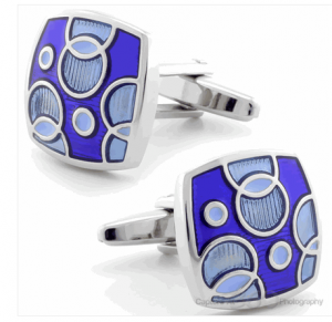 Gris Fun Bubble Cufflinks