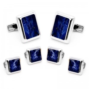 Dress for Success. JFK Lapis Cufflinks